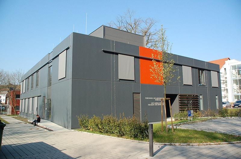 Forschungsgebäude für die Innere Medizin sowie José Carreras-Zentrum in Homburg