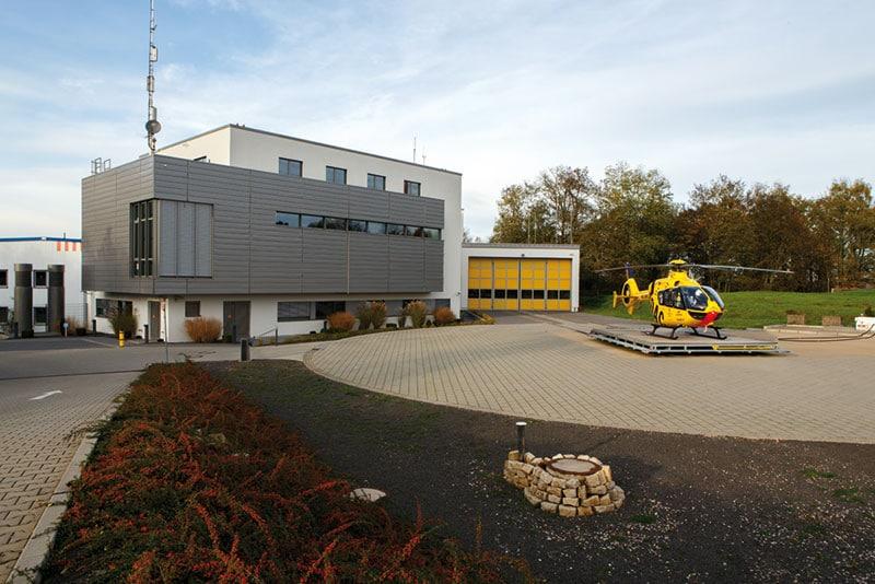 Neubau einer Rettungsleitstelle am Klinikum Winterberg in Saarbrücken