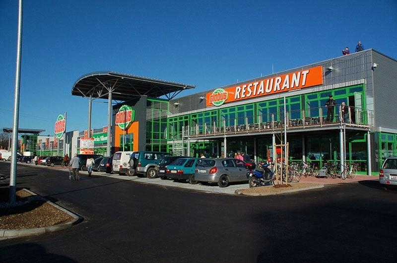 Neubau eines SB-Warenhauses in Freilassing