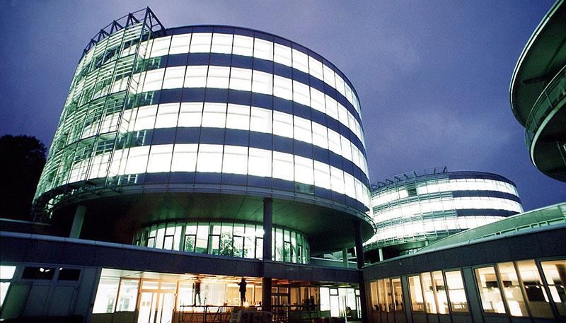 Verwaltungsgebäude UKV in Saarbrücken